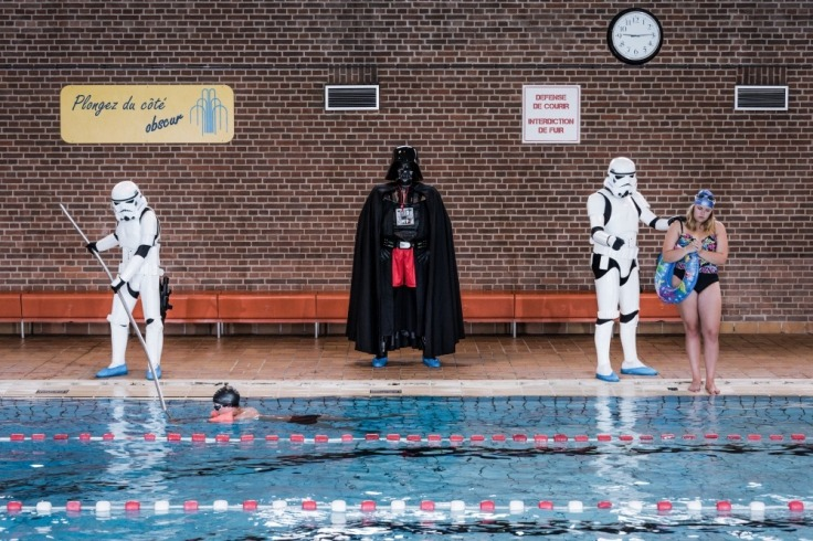 Star Wars piscine