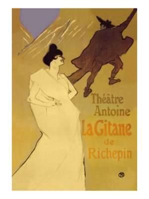 Toulouse Lautrec La Gitane