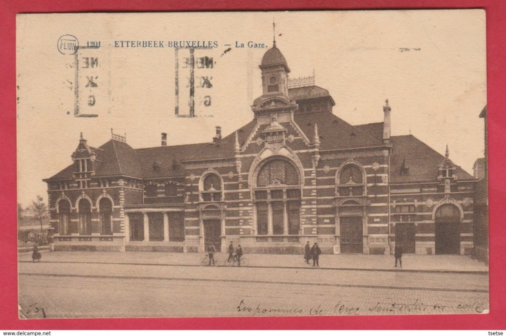 gare Etterbeek CP 1923