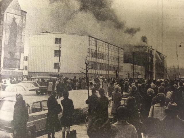ULB bâtiment U 1971