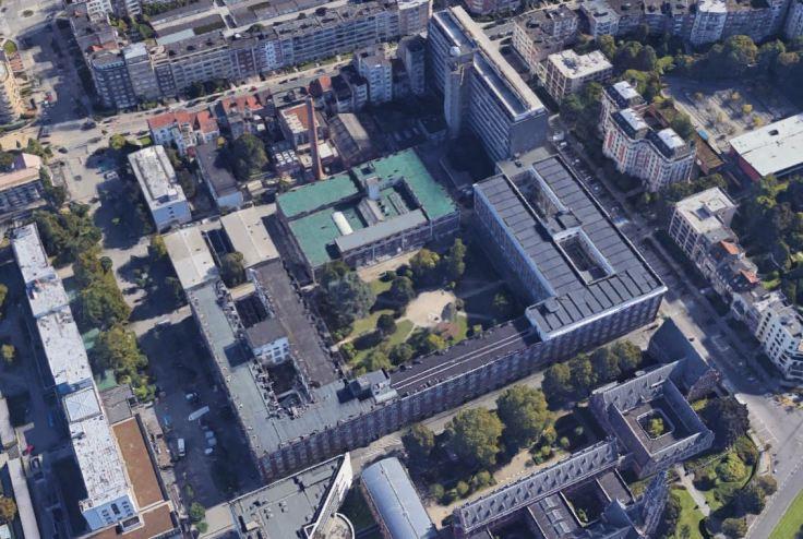ULB bâtiment U google